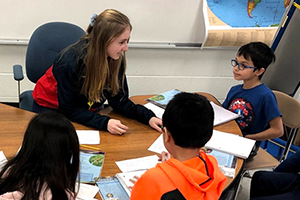 Education Pathway winds through classroom experience